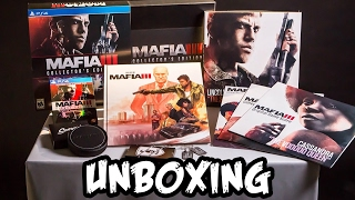 UNBOXING | MAFIA 3 Collector