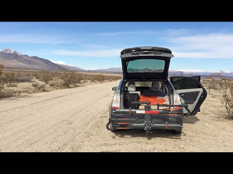 Stealth Car Camping in a Toyota Prius (Building a Bed, Staying Warm, Privacy & Security)