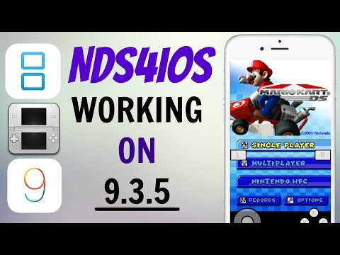 DOWNLOAD WORKING NDS4IOS ON IOS 9.3.5 PERMANENTLY! NO JAILBREAK/FREE (IPHONE,IPAD,IPOD)