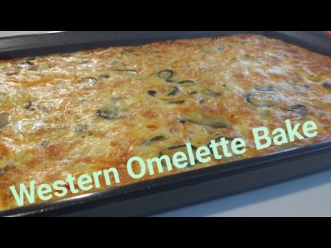 Western Omelette Bake- Cooking With Keto  (Meal Prep Edition)