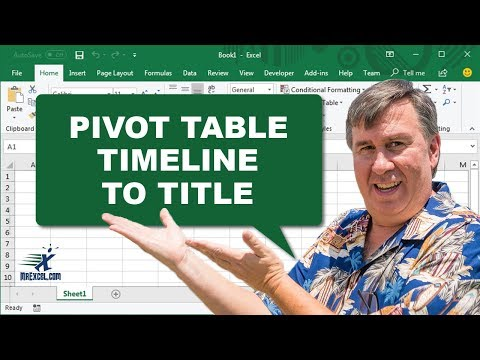 Learn Excel - Pivot Timeline to Title - Podcast 2170