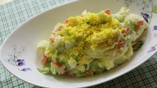 Korean Potato Salad : 감자 샐러드