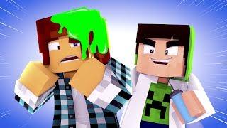 Minecraft Animado #29 : AMOEBA NO CABELO !! ( Minecraft Animation )