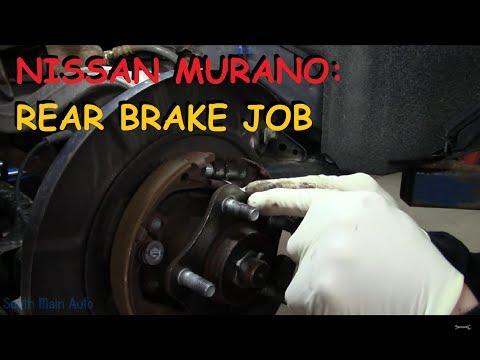Nissan Murano: Rear Brake Job