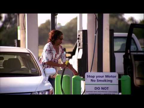 Refueling a natural gas vehicle