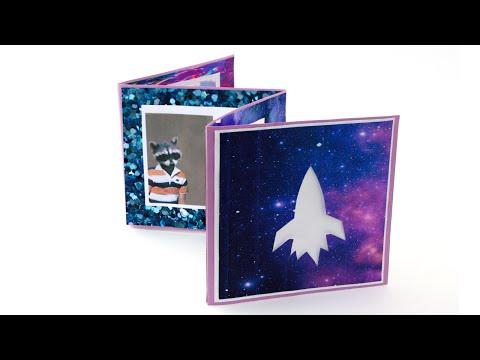 DIY Scrapbook Mini Photo Album