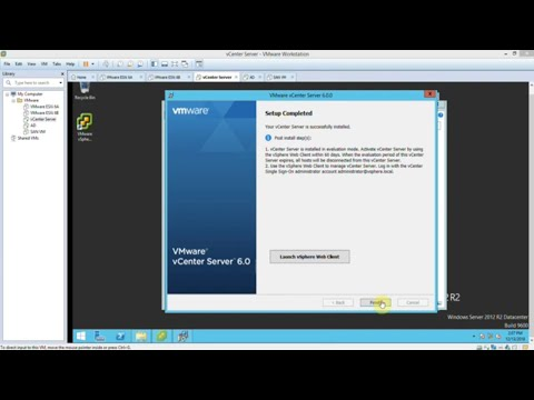 Install vCenter Server 6.0 For Windows Step by Step - Part 3