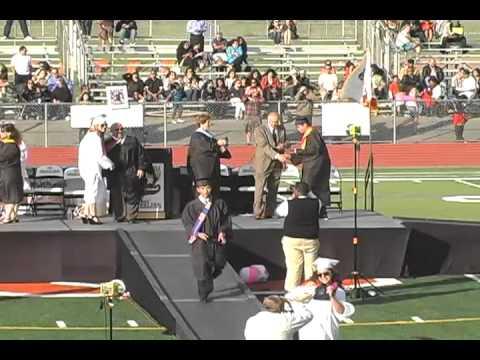 California High School Graduation Part 1 of 3 June 10, 2011