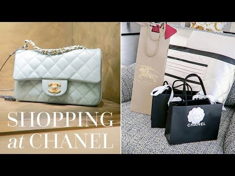 CHANEL SHOPPING, A NEW BAG UNBOXING & A GIVEAWAY [CLOSED!]