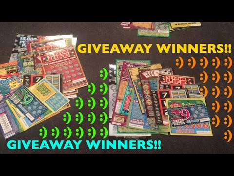 PLAYING SO MANY GIVEAWAY SCRATCHERS WOW!!! Congratulations to all winners!