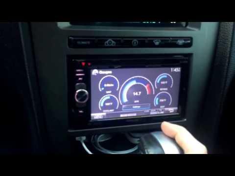 Kenwood Excelon DDX5901 in a Mustang GT
