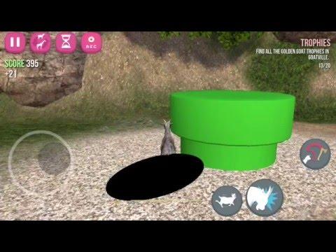 Goat Simulator: How to unlock anti-gravity goat iOS iPhone/iPad
