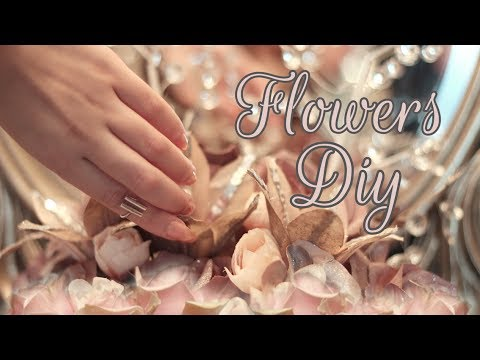 How to Paint Spray Flowers DIY