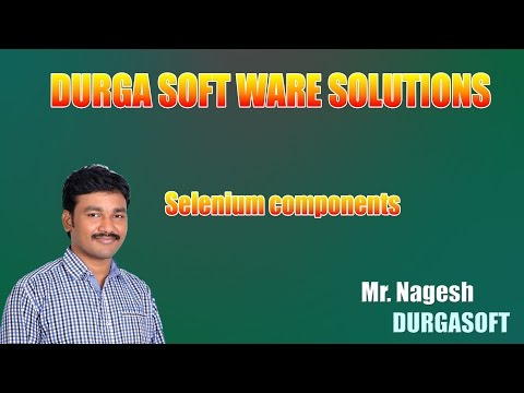 Selenium components by Nagesh