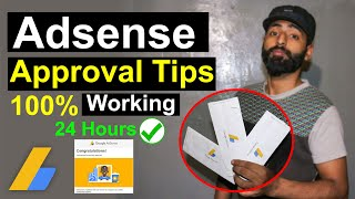 AdSense Approval Trick 2021 (100% WORKING) | How to Get Google AdSense Approval Quickly