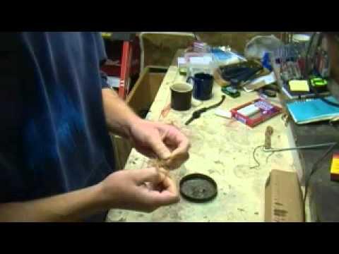 How to make waxed twine