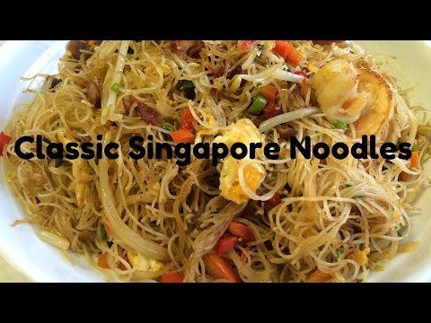 Classic Singapore Noodles