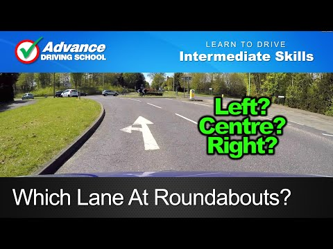 Which Lane At Roundabouts?  |  Learning to drive: Intermediate skills