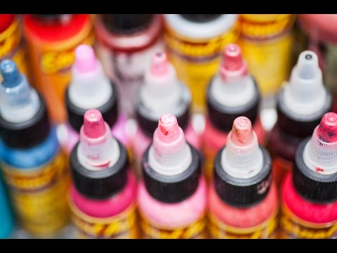 The Use of Tattoo Inks for Permanent Makeup