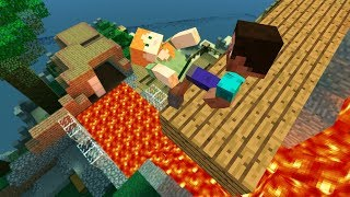 Gmod MINECRAFT Epic ragdolls vol 1 [Steve] - PakVim net HD