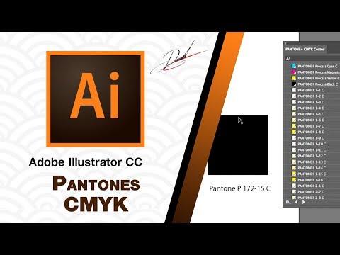 Adobe Illustrator CC - Uso de Pantones