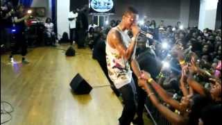 "WIZKID rocks NEW YORK CITY ..""holla @ ya boy"".. acapella"