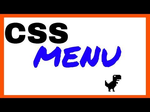 CSS Horizontal Menu