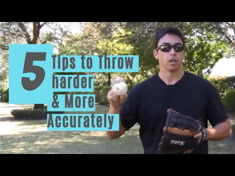 5 pro tips for throwing a baseball harder and more accurately