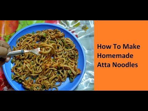 How To Make Homemade Atta Noodles / No - 240