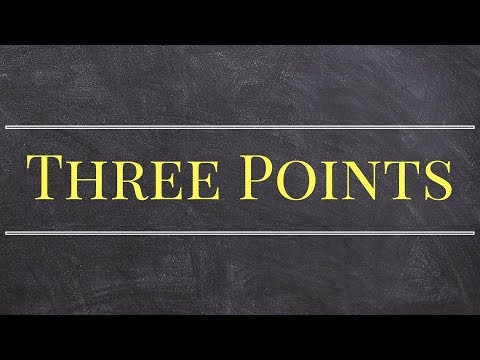 Master   How to find the area and perimeter of a triangle given three points