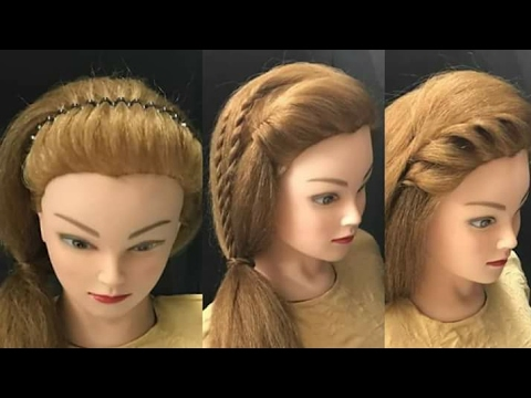 7 Easy & Awesome Looks : прически Everyday Hairstyles