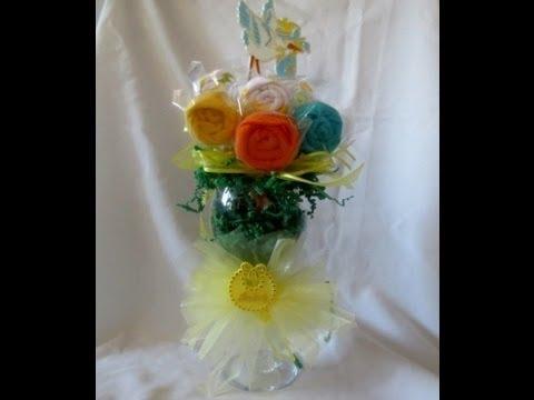 washcloth bouquet