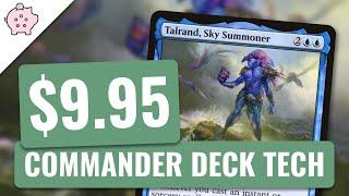 Talrand Sky Summoner EDH Budget Deck Tech 995 Spellslinger Magic The Gathering Commander