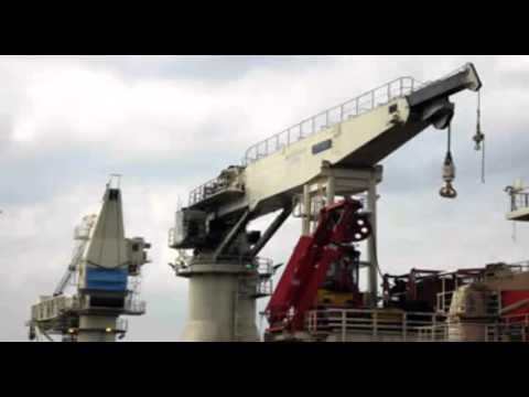 Offshore crane hydraulic pumps and motors Batam by caltav.com