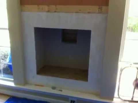 Installing a Clean Faced Gas Fireplace
