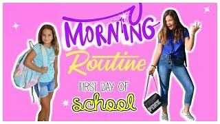 GRWM FIRST DAY OF SCHOOL | SISTER FOREVER