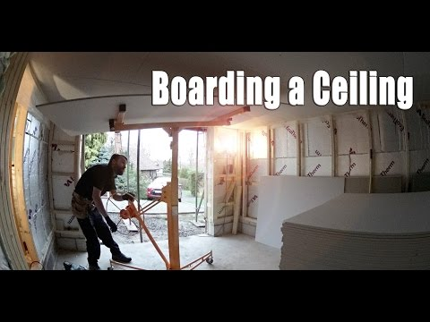 Boarding a Ceiling Time-lapes