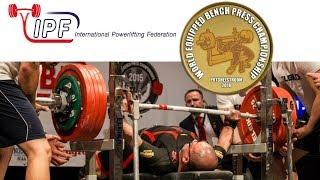 Junior Women, 43-84+ kg - World Equipped Bench Press Championships 2018