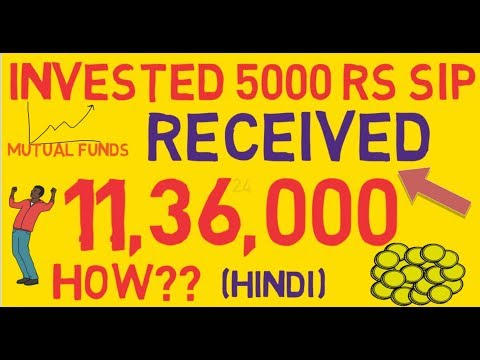 INVEST 5000 PER MONTH IN SIP MUTUAL FUND RECEIVE 11,36,000 RS