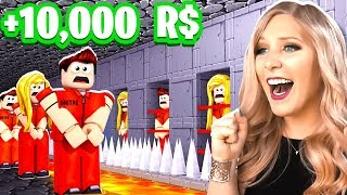 SHE GETS 1,000 ROBUX EVERY TIME SHE...