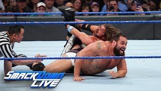 AJ Styles vs. Rusev: SmackDown LIVE, April 17, 2018