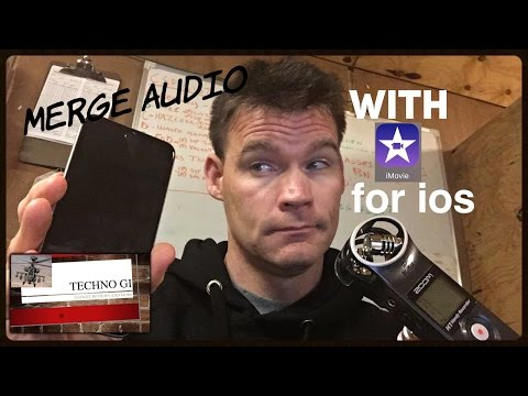 iMovie app tutorial For iOS: How to Merge Two Audio Sources