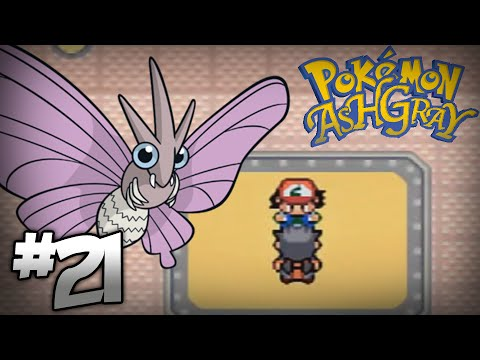 Let's Play Pokemon: Ash Gray - Part 21 - Fuschia Gym Leader Koga