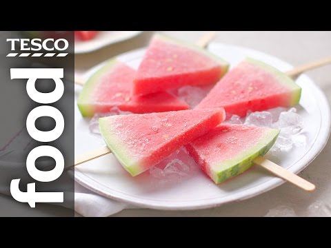 How to Make Watermelon Pops | Tesco Food
