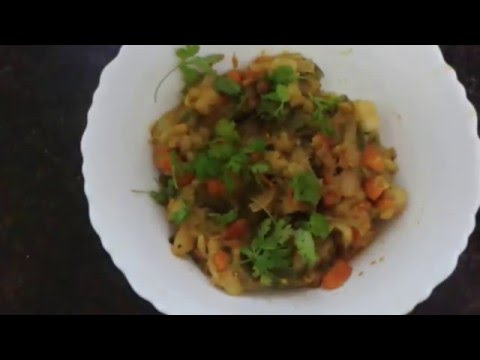 mixed vegetable curry recipe indian style for chapati rice