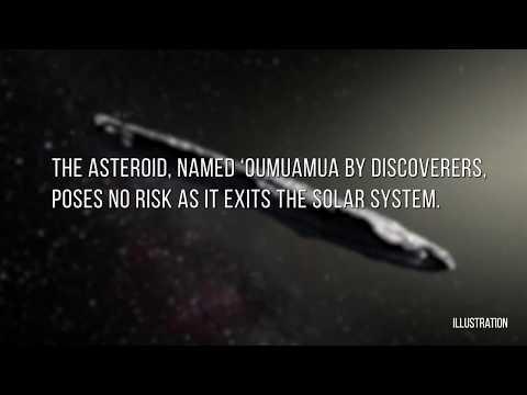 Oumuamua: UFO Charuto de outro sistema solar passa pela Terra