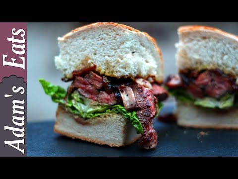 Ultimate steak and onion sandwich | Steak recipes
