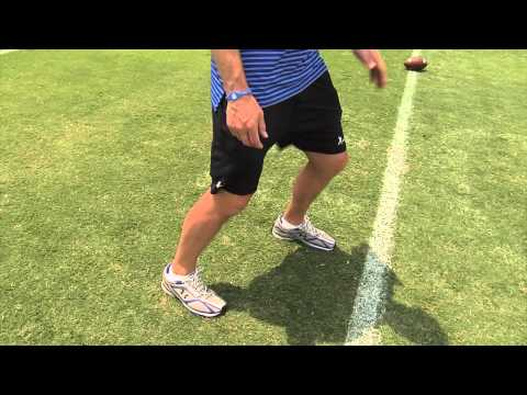 Kick Slide Drill - Offensive Line Series by IMG Academy Football (7 of 8)