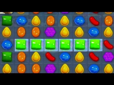 Candy Crush: Match 6 Candies In A Row!!