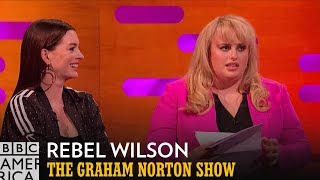 Rebel Wilson Defended The Hustle's PG-13 Rating To A Jury   The Graham Norton Show   BBC America